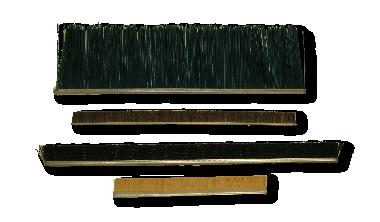 Metal Back Strip Brushes